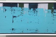 Silver Lining, 12x20, Framed